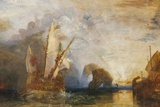 Painting of Ulysses Deriding Polyphemus,The National Gallery,Trafalgar Square Photographic Print by Steven Vidler