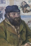 Portrait of Cezanne,The National Gallery,Trafalgar Square Photographic Print by Steven Vidler