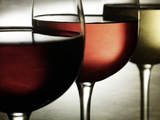 Red, Rose and White Wine Photographic Print by Steve Lupton