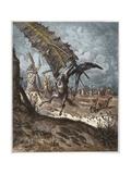 Don Quixote and the Windmills Giclee Print by Stefano Bianchetti