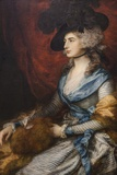 Painting of Mrs Siddons,The National Gallery,Trafalgar Square Fotodruck von Steven Vidler
