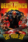 Five Finger Death Punch Got Your Six Poster