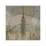 Vintage NYC I Giclee Print by Dylan Matthews