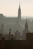 Nuremberg in Germany Looking toward St. Lorenzkirche Photographic Print by Jon Hicks