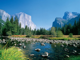 El Capitan and the Yosemite Valley Photographic Print by Jose Fuste Raga