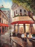 Parisian Stroll Print by Joseph Cates