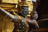 Guardian Sculpture at the Grand Palace Photographic Print by Macduff Everton