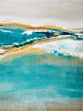 Aqua Quartz Prints by Liz Jardine