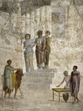 Roman Art : Jason before His Uncle King Pelias Photographic Print
