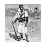 Mokhazni French Colonial Auxiliary Soldier North Africa 1904 Giclee Print by Chris Hellier