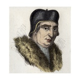 Italian Philosopher Francesco Guicciardini Giclee Print by Stefano Bianchetti