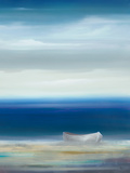 Boat on Shore Prints by Kc Haxton