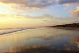 Low Tide Sunset on Playa Linda near Dominical Photographic Print by Stefano Amantini