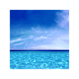 Sky and Water Giclee Print by Charlie Carter