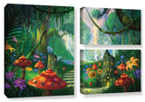 Hidden Treasure, 3 Piece Gallery-Wrapped Canvas Flag Set Posters by Philip Straub