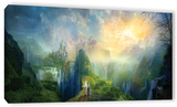 Road To Oalovah, Gallery-Wrapped Canvas Stretched Canvas Print by Philip Straub
