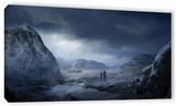 Winter, Gallery-Wrapped Canvas Stretched Canvas Print by Philip Straub