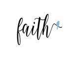 Faith Blue Bird Affiches par Tara Moss
