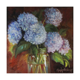 Lilacs and Copper Premium Giclee Print by Cheri Wollenberg