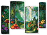 Hidden Treasure, 4 Piece Gallery-Wrapped Canvas Staggered Set Poster by Philip Straub