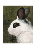 Black and White Rabbit Prints by Cheri Wollenberg