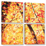 The Last Days, 4 Piece Gallery-Wrapped Canvas Square Set Gallery Wrapped Canvas Set by Meaghan Troup