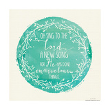 New Song Prints by Jo Moulton