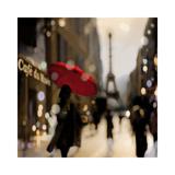 A Paris Stroll Giclée-tryk af Kate Carrigan