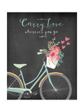 Carry Love Poster di Jo Moulton