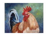 February Rooster II Prints by Cheri Wollenberg