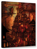 Illuminations, Gallery-Wrapped Canvas Stretched Canvas Print by Philip Straub