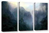 Afternoon Light , 3 Piece Gallery-Wrapped Canvas Set Posters by Philip Straub