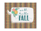 Hello Fall Art by Jo Moulton