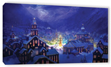 Christmas Town, Gallery-Wrapped Canvas Stretched Canvas Print by Philip Straub
