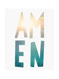 Amen Water Art by Tara Moss