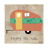 Enjoy the Ride Premium Giclee Print by Katie Doucette