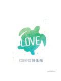Deep as the Ocean Poster van Jo Moulton