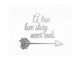 A True Love Story Silver Prints by Tara Moss