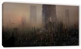 Cohabitations, Gallery-Wrapped Canvas Stretched Canvas Print by Philip Straub