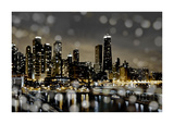 Chicago Nights II Giclee Print by Kate Carrigan