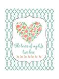 Loves of My Life Plakater av Jo Moulton