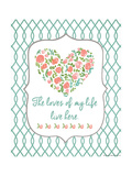 Loves of My Life Posters by Jo Moulton