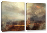 Before The Rain, 2 Piece Gallery-Wrapped Canvas Set Prints by Philip Straub