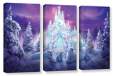 Winter Wonderland, 3 Piece Gallery-Wrapped Canvas Set Poster by Philip Straub