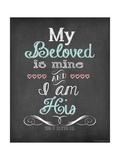 My Beloved Poster by Jo Moulton