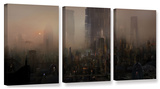 Cohabitations, 3 Piece Gallery-Wrapped Canvas Set Gallery Wrapped Canvas Set by Philip Straub
