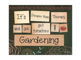 Gardening Print by Katie Doucette