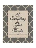 Give Thanks Poster af Jo Moulton