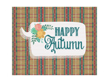 Happy Autumn Posters by Jo Moulton