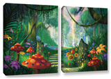 Hidden Treasure, 2 Piece Gallery-Wrapped Canvas Set Posters by Philip Straub